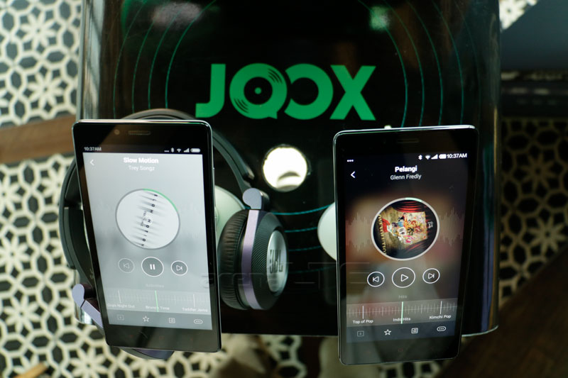 Layanan Musik Online dan Karaoke Joox